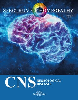 Narayana Verlag: Spectrum of Homeopathy 2020-3, CNS - Neurological Diseases