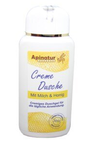 Shower Cream with milk and honey from Apinatur - 200ml/