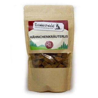 Schwarzwaldi Hähnchenkräuterlis - 130 g - Hundefutterergänzung (Leckerli)/