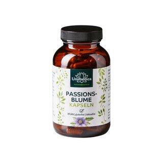 Passionsblume - 750 mg - 240 Kapseln - von Unimedica/
