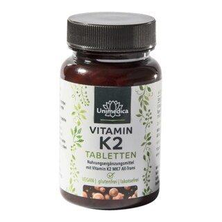 Vitamine K2 comprimés -120 comprimés - Unimedica/