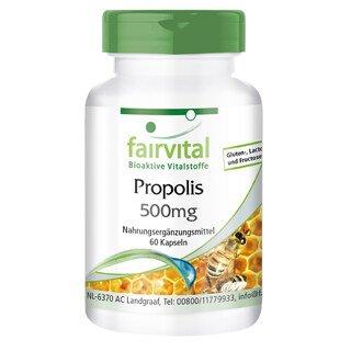 Bee Propolis 500 mg - 60 capsules/