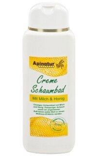 crème bain moussant au lait et au miel -250 ml/