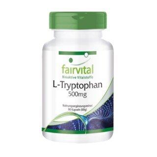 L-Tryptophan - 500mg/
