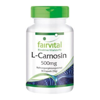 L-Carnosin 500 mg - 90 Kapseln/