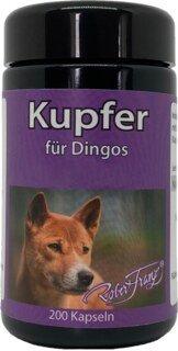 Kupfer für Dingos - von Robert Franz - 200 Kapseln/
