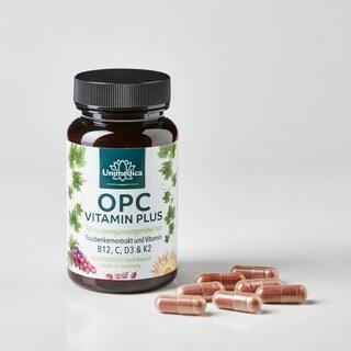 OPC Vitamin Plus - hochdosiert - 60 Kapseln - von Unimedica