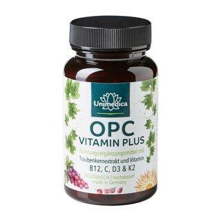 OPC Vitamin Plus - hochdosiert - 60 Kapseln - von Unimedica/