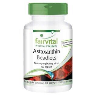 Astaxanthin Beadlets - 120 Kapseln