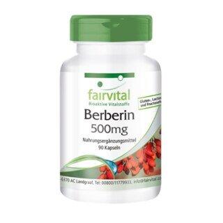 Berberin 500 mg - 90 Kapseln/