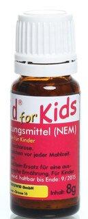 Zuckerkügelchen mit Kurkumin für Kinder - 8 g - CurcuWid/