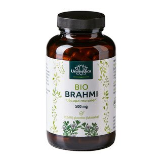 : Bio-Brahmi - 500 mg - 150 Kapseln - von Unimedica