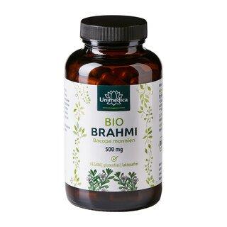 Bio-Brahmi - 500 mg - 150 Kapseln - von Unimedica
