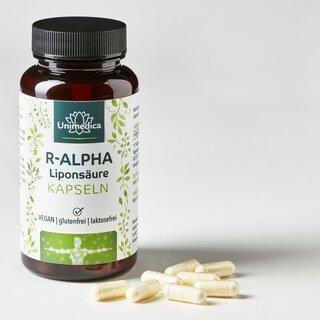 R-Alpha-Liponsäure - 150 mg - 120 Kapseln - von Unimedica