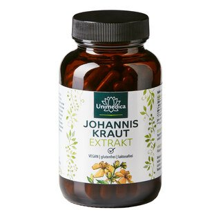 Johanniskraut Extrakt - 100 Kapseln - von Unimedica/