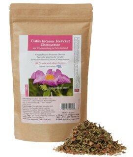 Cistus Incanus Teekraut Zistrosentee aus Wildsammlung - 100 g/