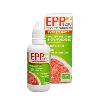 Extrait de pépins de pamplemousse Bio - EPP 1200/