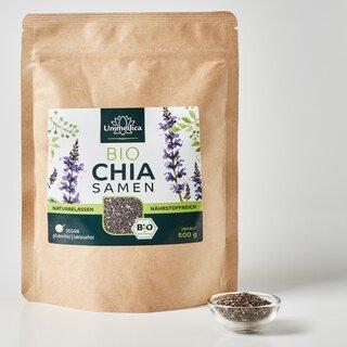Bio Chiasamen - naturbelassen - 500 g - von Unimedica