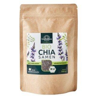 Graines de chia bio - naturelles - 500 g - par Unimedica/