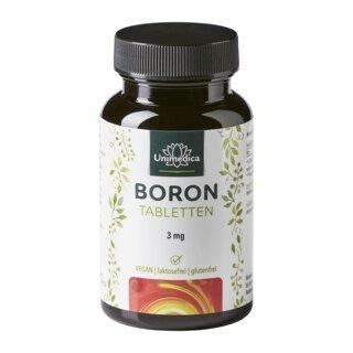 Boron - 3 mg - 365 Tabletten - von Unimedica/