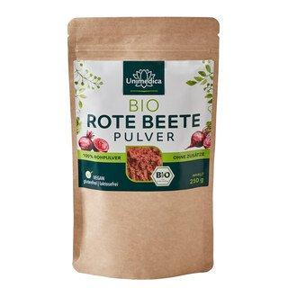 Bio Rote Beete Pulver - 500 g - von Unimedica/