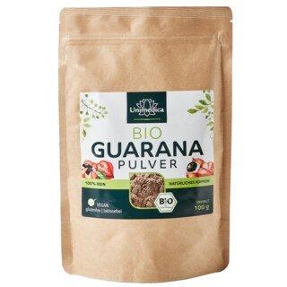 Guarana Pulver Bio - 100 g - von Unimedica/