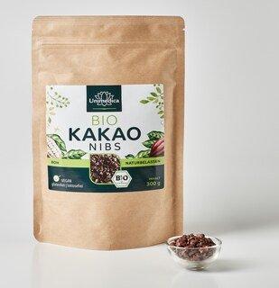 Bio Kakao Nibs - 300 g - von Unimedica