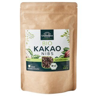 Kakao Nibs Bio - 300 g - von Unimedica