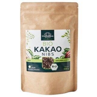 Éclats de fèves de cacao bio - 300 g - Unimedica/