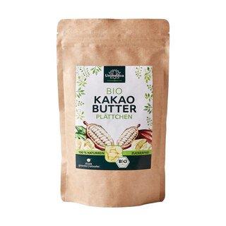 Bio Kakaobutter Plättchen - 300 g - von Unimedica