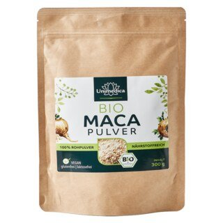 Maca Pulver Bio - 300 g - von Unimedica/