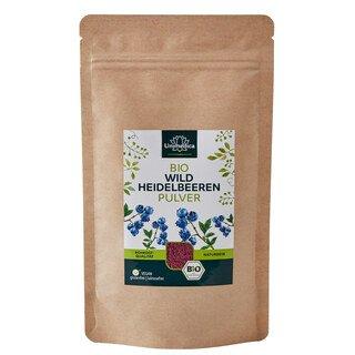 Bio Heidelbeeren Pulver - 100 g - von Unimedica/