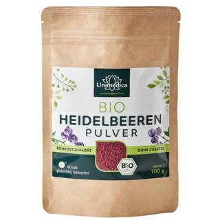 Heidelbeeren Pulver Bio - 100 g - von Unimedica/