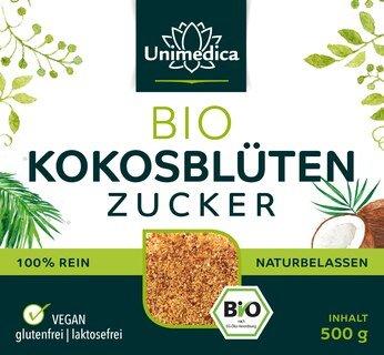 Bio Kokosblütenzucker - 500 g - von Unimedica