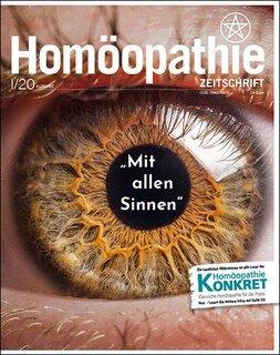 """Homöopathie Zeitschrift 2020/1 - """"Mit allen Sinnen"""" - Sinnesorgane/Kirstin Hill"""