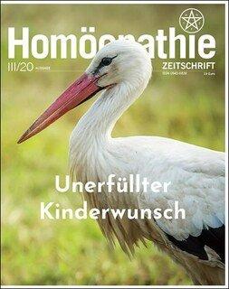Homöopathie Zeitschrift 2020/3 - Unerfüllter Kinderwunsch/Kirstin Hill