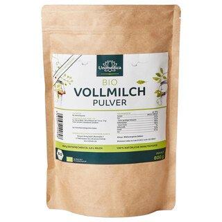 Poudre de lait entier biologique - 800 g - par Unimedica