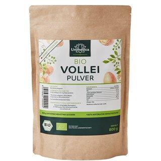 Bio Volleipulver - 800 g - pasteurisiert - von Unimedica/