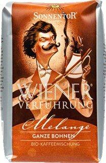 "Kaffee Melange ganze Bohne Bio ""Wiener Verführung"" - 1 kg"