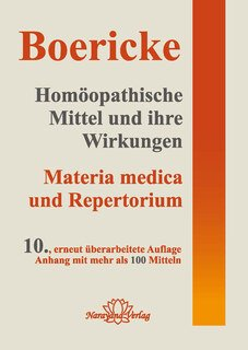 Homöopathische Mittel und ihre Wirkungen/William Boericke