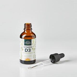 Vitamin D3 Tropfen - 5000 I.E. - hochdosiert - 50 ml - von Unimedica