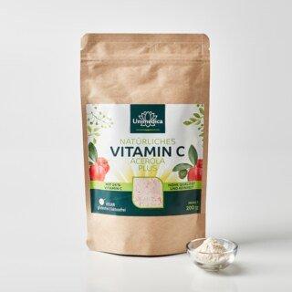 Natürliches Vitamin C Acerola Plus - 25% Vitamin C - 200 g - von Unimedica