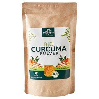 Curcuma Pulver - Bio - 500 g - von Unimedica/
