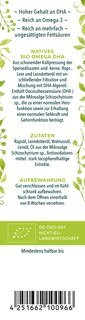 Omega DHA Spezialöl - BIO - 250 ml von Unimedica
