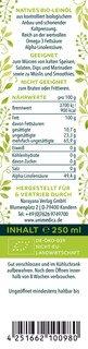 Leinöl nativ - BIO - 250 ml - von Unimedica