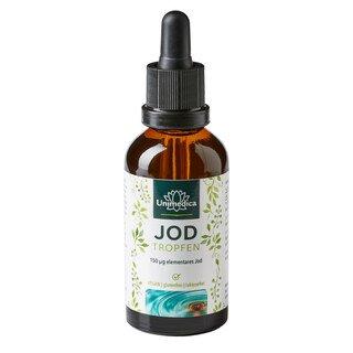 Jod Tropfen - 150 µg hochdosiert - 50 ml -  von Unimedica/