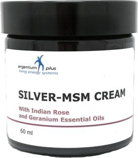 Silver-MSM Crème with Indian Rose and Geranium/