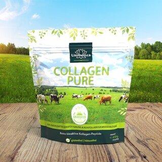 Collagen Pure - Kollagenprotein - aus LIAF zertifizierter Weidehaltung und Grasfütterung - 450 g Pulver - von Unimedica