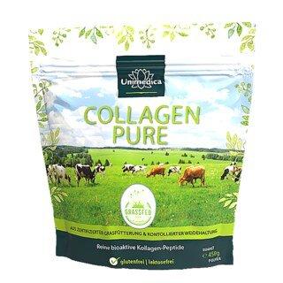 Collagène pur  protéine de collagène  issu d'un pâturage et d'un fourrage à base d'herbe certifiés LIAF - 450 g de poudre - par Unimedica/