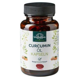 Curcumin Öl - 500 mg - 60 Softgelkapseln - von Unimedica/